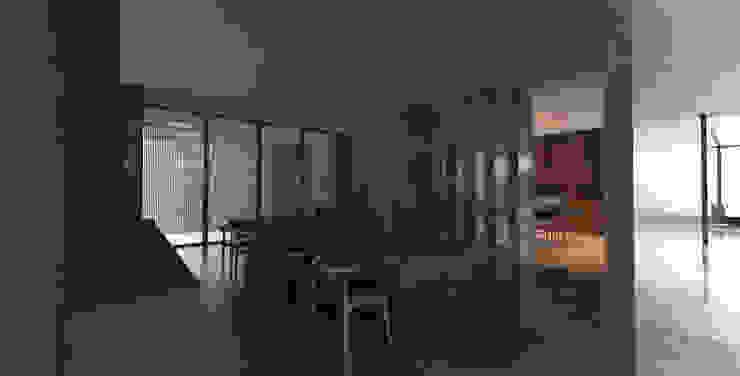 Yıldırım Villa Minimalist Yemek Odası Robus Mimarlık Mühendislik Minimalist