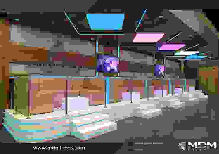 proyecto presentado por nuestro cliente Salas de estilo industrial de Decor amazonas Industrial