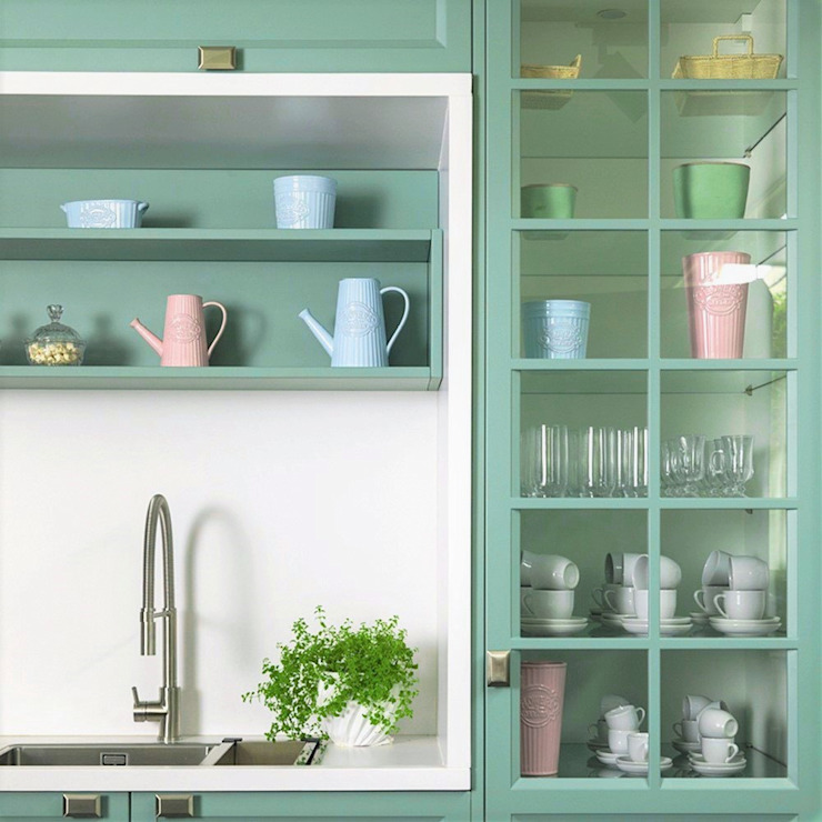 FLORENSE KitchenStorage Turquoise