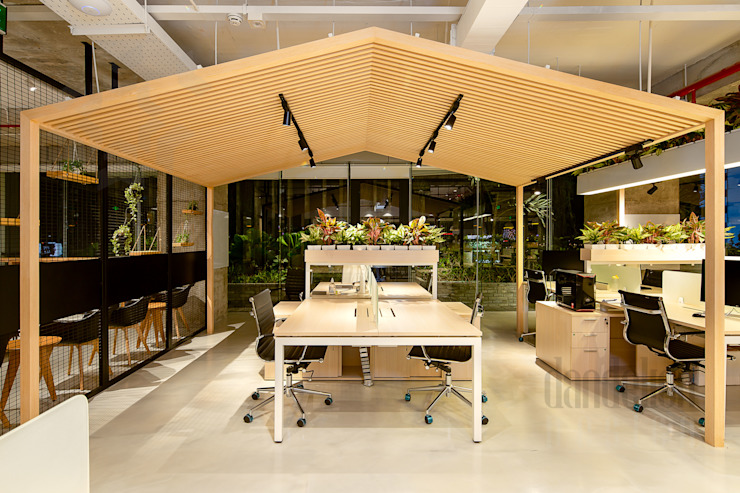 Thiết Kế Thi Công Nội Thất Văn Phòng BESPOKIFY FASHION-TECH ĐÀ NẴNG 3 bởi Dandelion Design Construction Hiện đại
