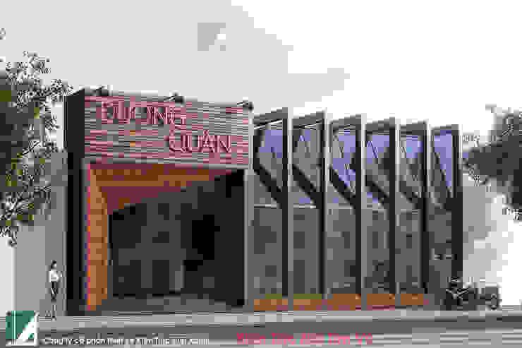 NHÀ HÀNG DƯƠNG QUÁN - LÊ HỒNG PHONG - HẢI PHÒNG bởi Kiến trúc Việt Xanh