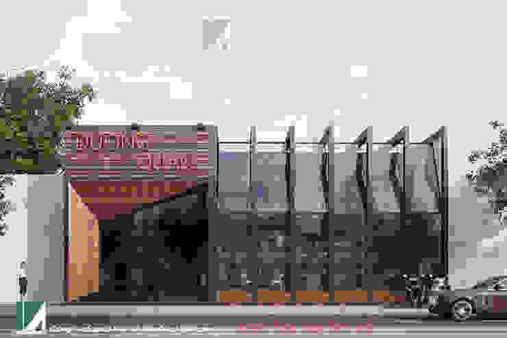 NHÀ HÀNG DƯƠNG QUÁN – LÊ HỒNG PHONG – HẢI PHÒNG bởi Kiến trúc Việt Xanh