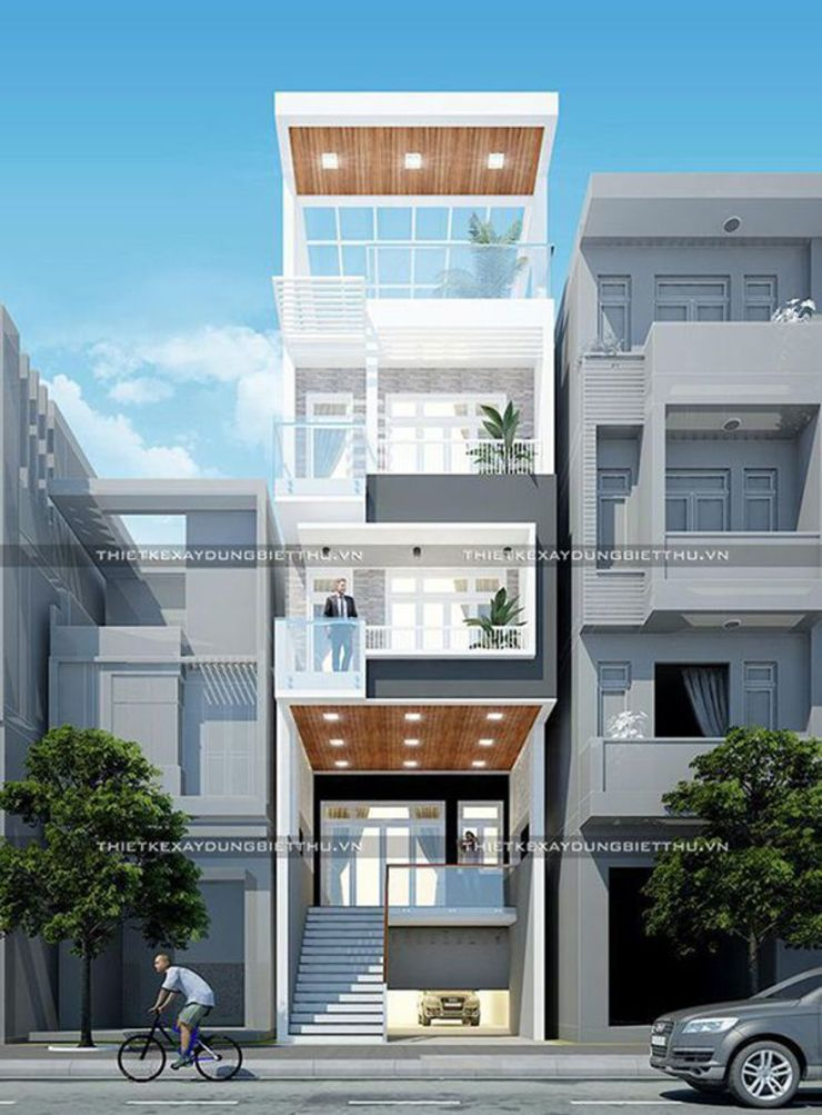Chia sẽ 40 mẫu thiết kế nhà phố hiện đại đẹp bởi Thiết kế nhà đẹp ở Hồ Chí Minh