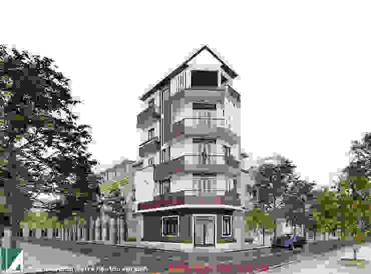 NHÀ 40M2 - 5 TẦNG HẠ LÝ - HẢI PHÒNG bởi Kiến trúc Việt Xanh