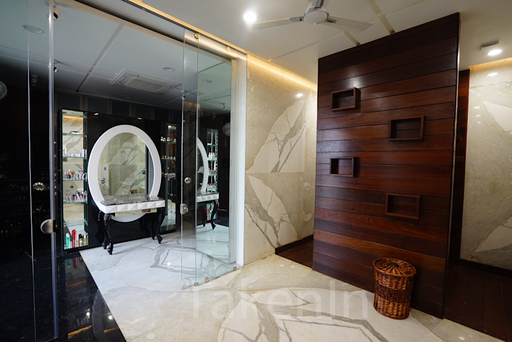 From Modern Interiors To Contemporary Decor: This Design Studio Will Bring Your Dream Home To Life! 7WD Design Studio Modern bathroom Marble White