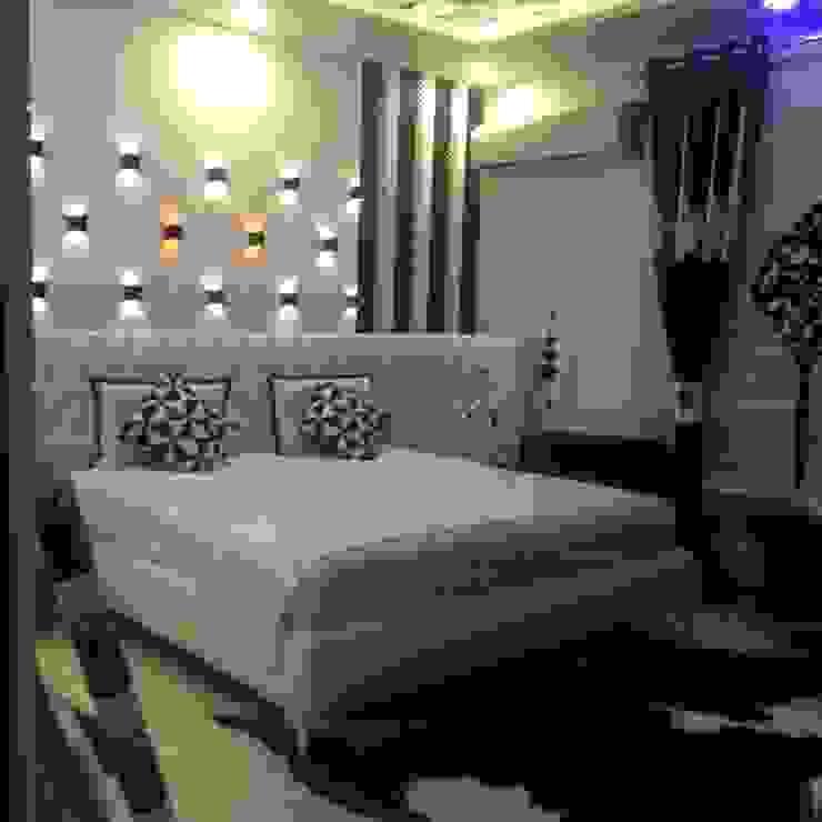INTERIOR DESIGNERS & TURNKEY SERVICE 7WD Design Studio Minimalist bedroom Wood White