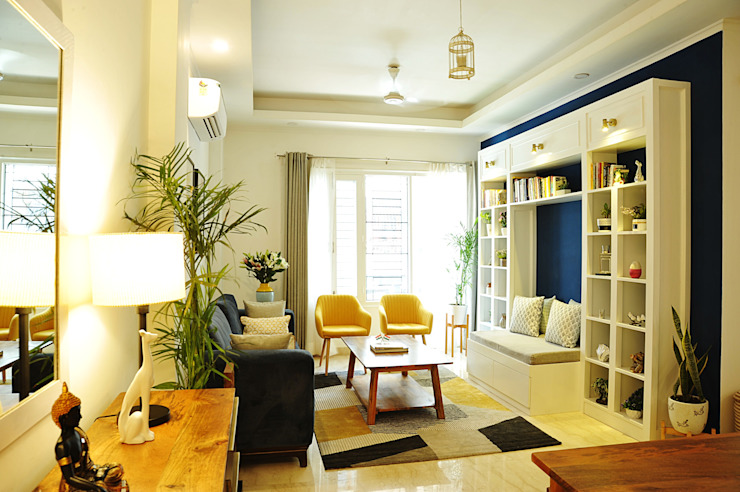 living area or informal space flamingo architects Modern living room