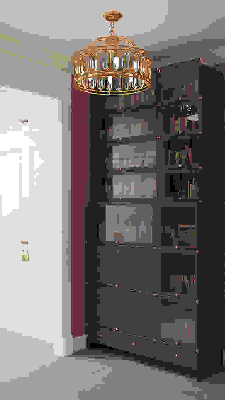 經典風格的走廊,走廊和樓梯 根據 Zibellino.Design 古典風