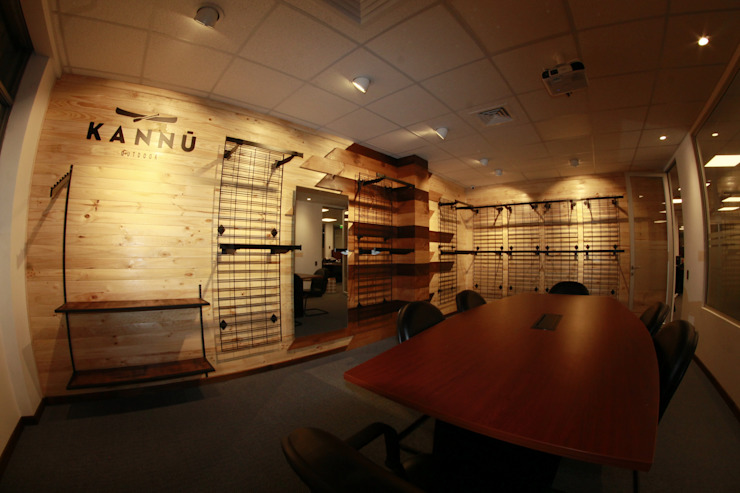 Showroom Kannú de Matiz Diseño Rústico
