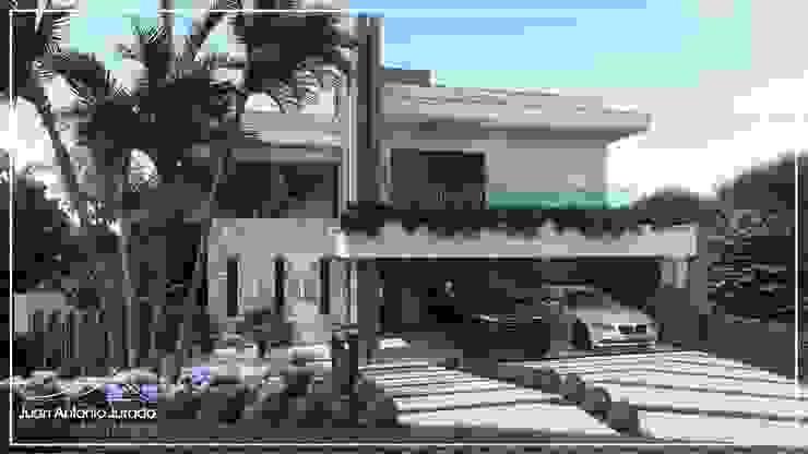 Fachada por Juan Jurado Arquitetura & Engenharia Moderno