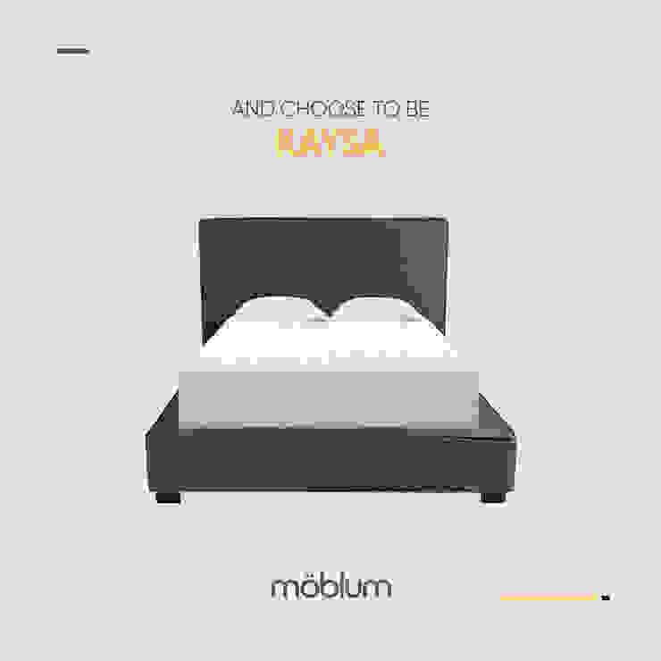 Cama Kaysa de moblum Minimalista