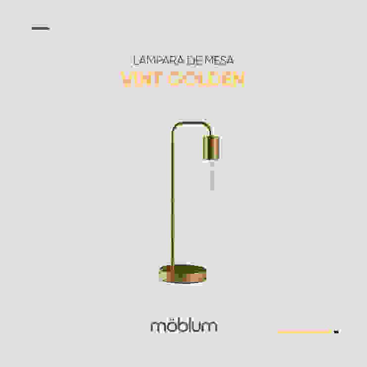 Lámpara de mesa Vint de moblum Minimalista