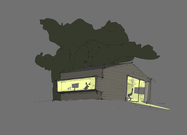 by DILL . Architektur & urbane Aesthetik Scandinavian Wood Wood effect