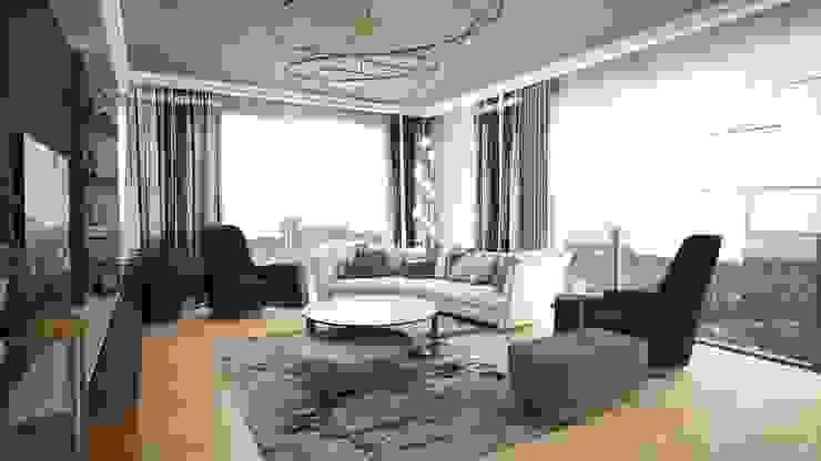Modern living room by Lego İç Mimarlık & İnşaat Dekorasyon Modern Wood Wood effect