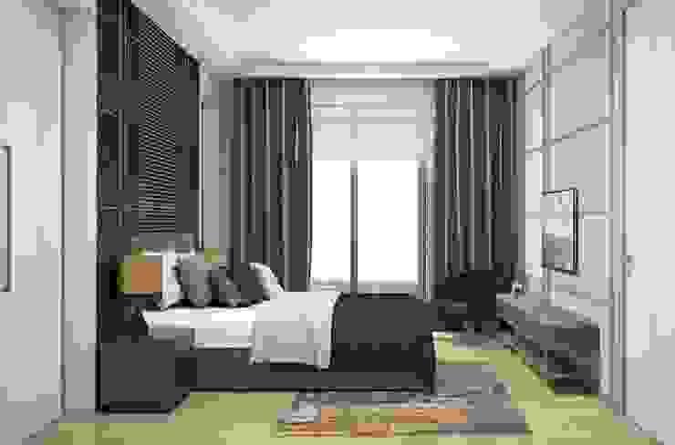 Yatak Odası Lego İç Mimarlık & İnşaat Dekorasyon Modern Yatak Odası Ahşap Mavi