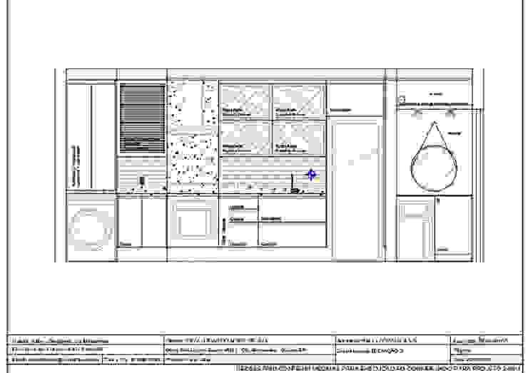 COZINHA PLANEJADA - PROJETO EM VISTA :   por Nainá Julio  - Designer de Interiores,Moderno