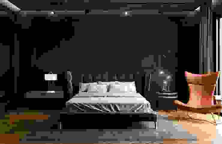Decorvita mimarlık – Toskana Vadisi Villaları Yatak Odası:  tarz Yatak Odası, Modern