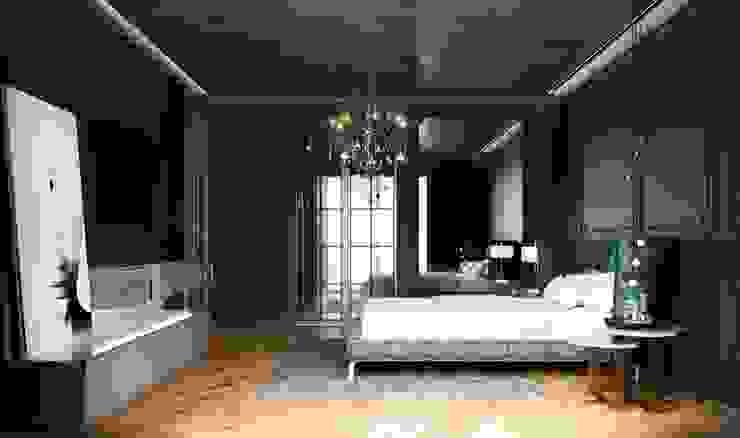 Toskana Vadisi Villaları Yatak Odası Modern Yatak Odası Decorvita mimarlık Modern