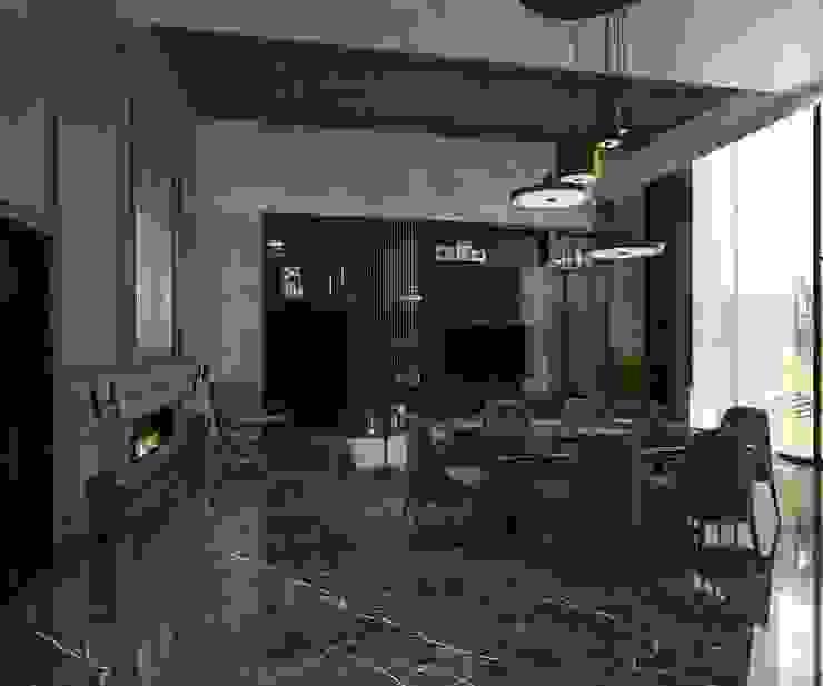 Toskana Vadisi Villaları Yemek Odası Modern Yemek Odası Decorvita mimarlık Modern