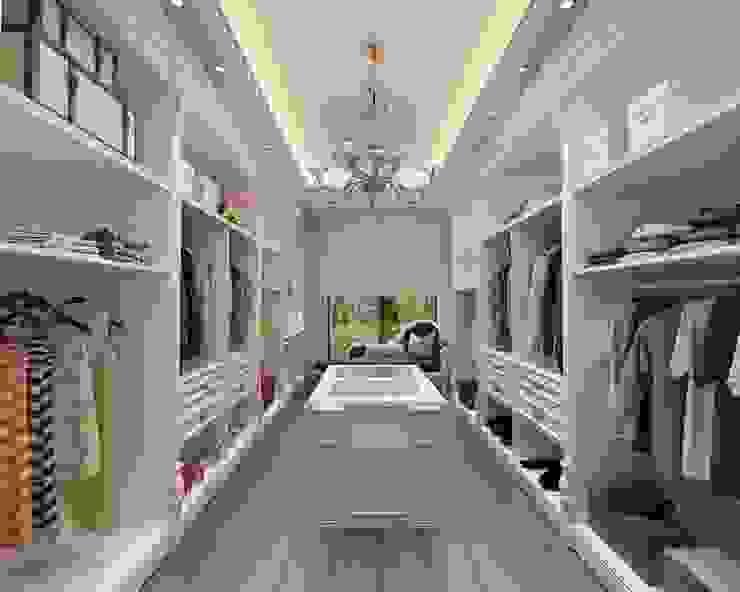 Toskana Vadisi Villaları Giyinme Odası Modern Giyinme Odası Decorvita mimarlık Modern