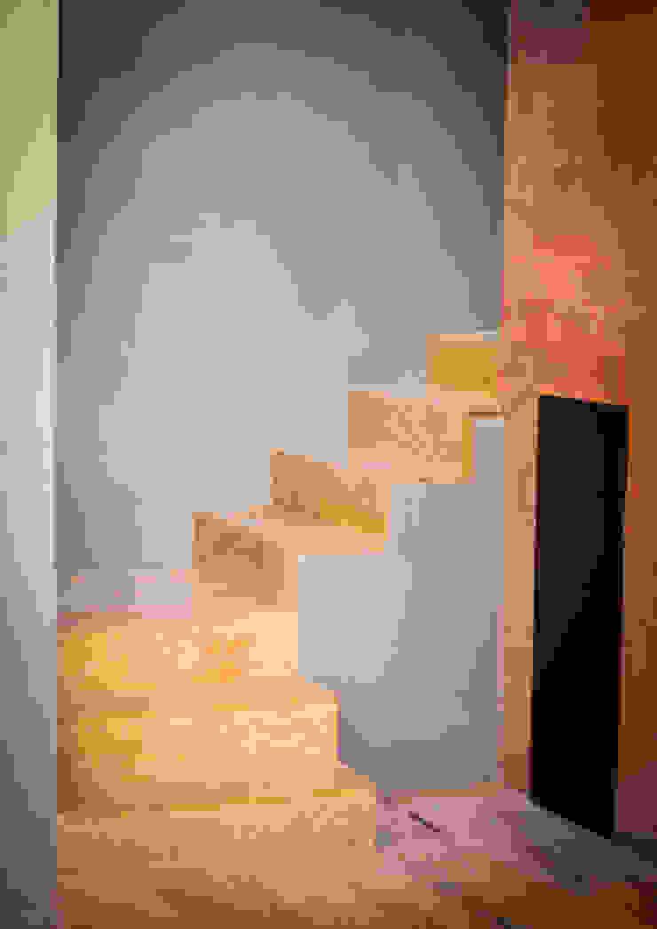 RAMLE Arquitectos บันได ไม้ Wood effect