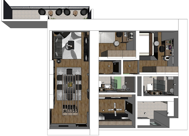2 Bedroom Condominium Project by MKC DESIGN