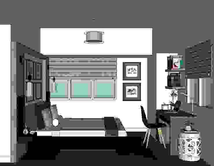 2 Bedroom Condominium Project Modern style bedroom by MKC DESIGN Modern