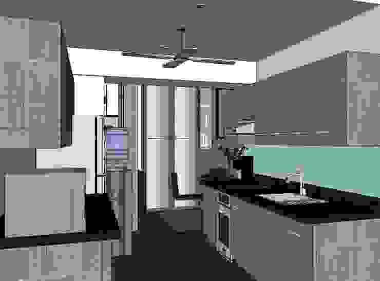 2 Bedroom Condominium Project by MKC DESIGN Modern