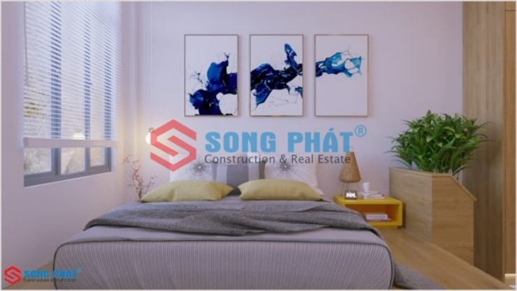 Công ty TNHH TK XD Song Phát BedroomBeds & headboards