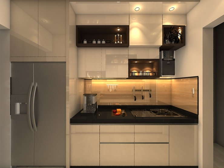Modern kitchen by Clickhomz Modern