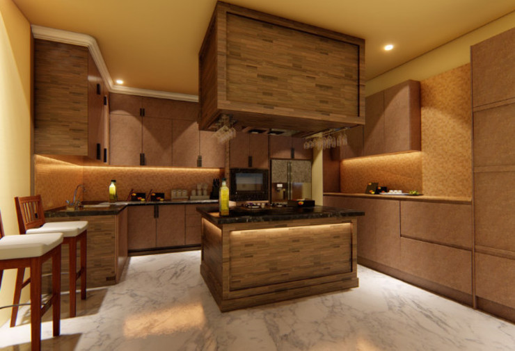Modular Kitchen design Manglam Decor