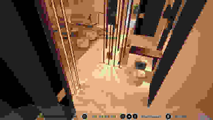 ห้องโถงทางเดินและบันไดสมัยใหม่ โดย Amjad Alseaidan โมเดิร์น