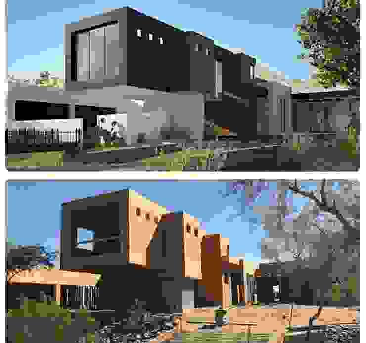 Un oasis en mitad del llano. de Smart Investment Group Moderno Concreto