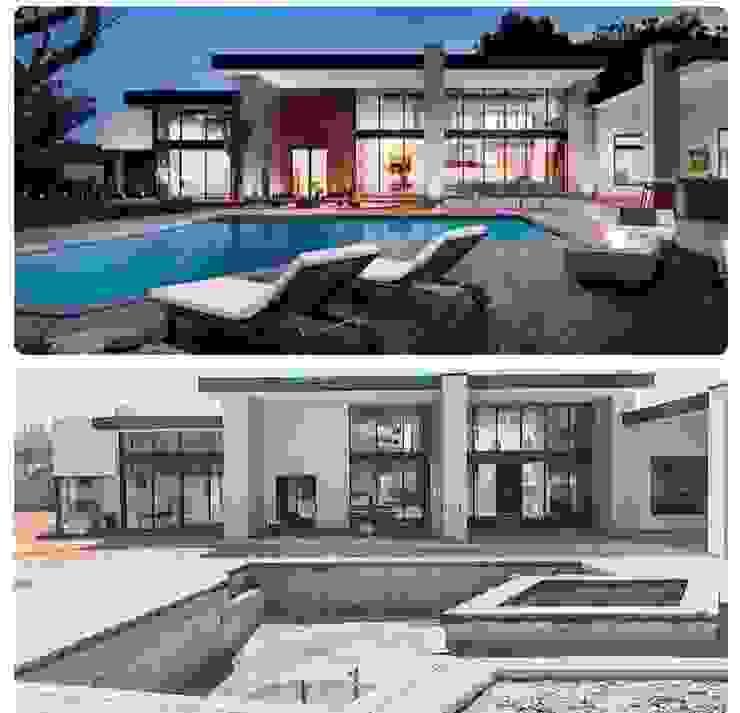 Un oasis en mitad del llano. de Smart Investment Group Moderno