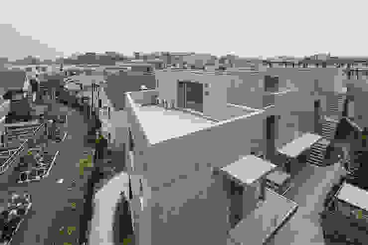 CO2WORKS Moderne Häuser Beton Grau