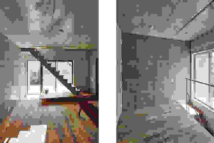 CO2WORKS Moderne Wohnzimmer