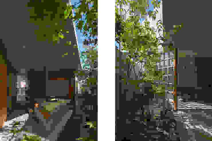 CO2WORKS Moderner Garten