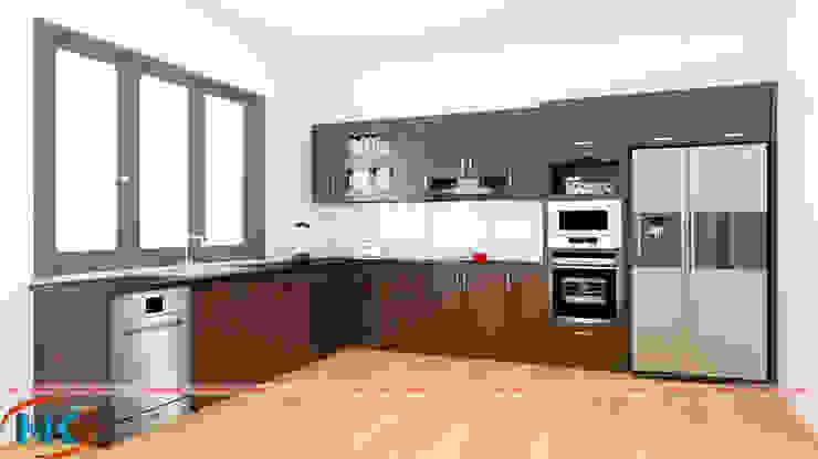 Phân loại gỗ tự nhiên đóng tủ bếp phổ biến nhất hiện nay bởi Nội thất Nguyễn Kim