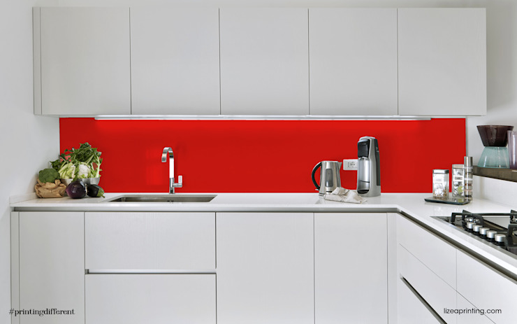 lizea sas Modern Kitchen Aluminium/Zinc