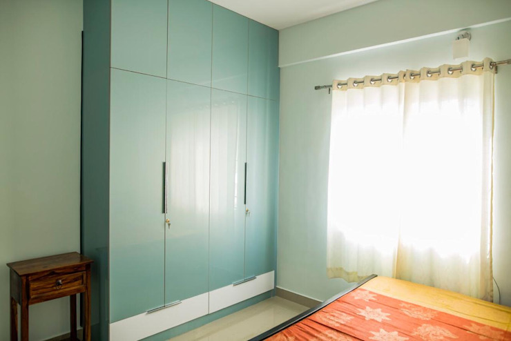 Wardrobe in Bedroom:  Bedroom by Dream Touch ,