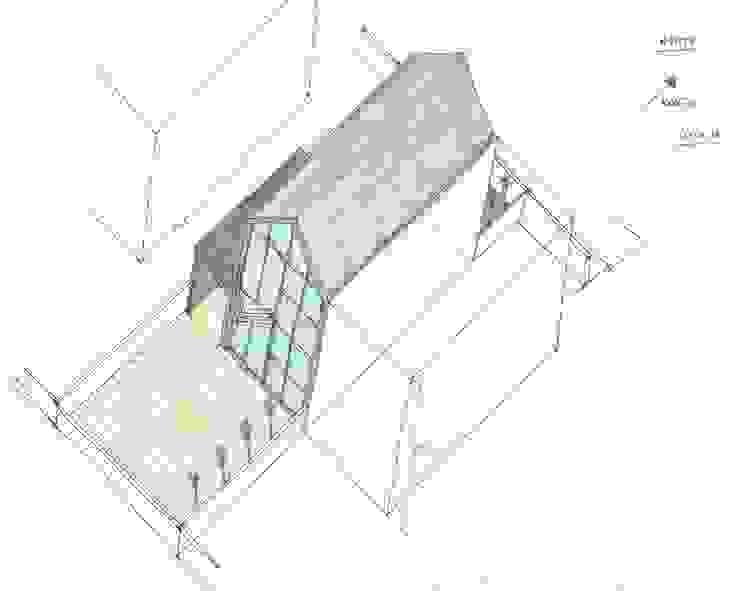 Planta - Perspetiva 2 por Arqvoid - Arquitetura e Serviços, Lda.