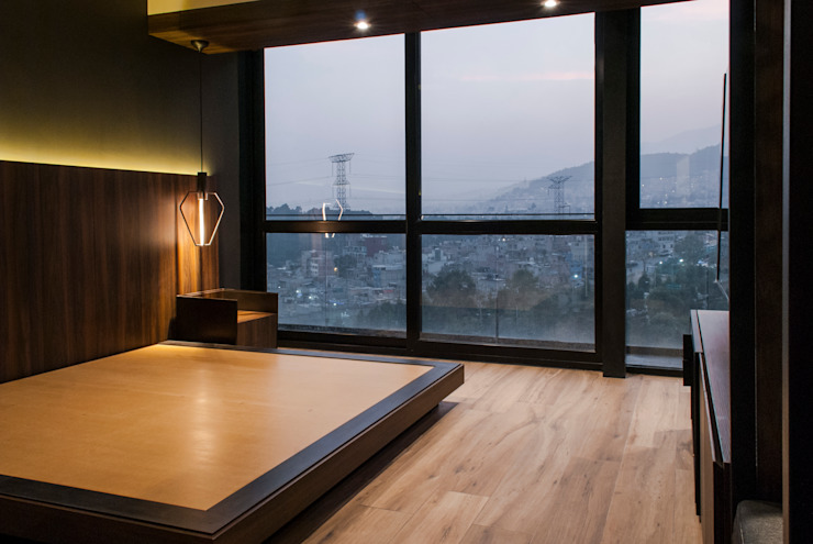 DESPUÉS / Recámara principal Dormitorios modernos de Maquiladora de Muebles Moderno