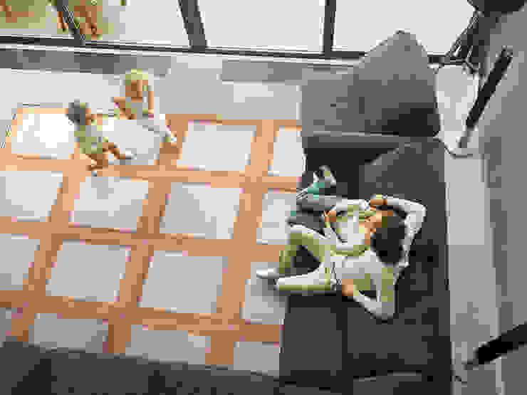 Legnocemento : Pareti & Pavimenti in stile  di Archimede Bozzo Pavimenti in legno,