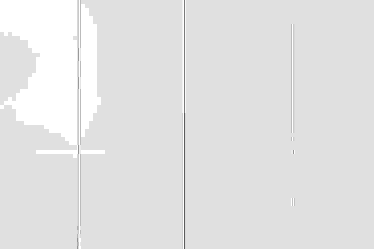 Pormenor Puxadores Embutidos Archimais Closets modernos MDF Branco