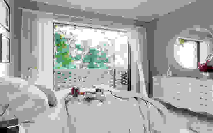 Complejo San Nicanor Dormitorios modernos: Ideas, imágenes y decoración de Estudio BAC Moderno