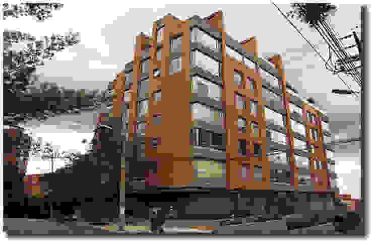 Diseño y dirección de obra Edificio BELLAVISTA de ADI STUDIO S.A.S Clásico Ladrillos