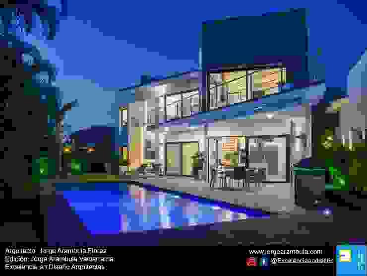 Excelencia en Diseño Maison individuelle Blanc