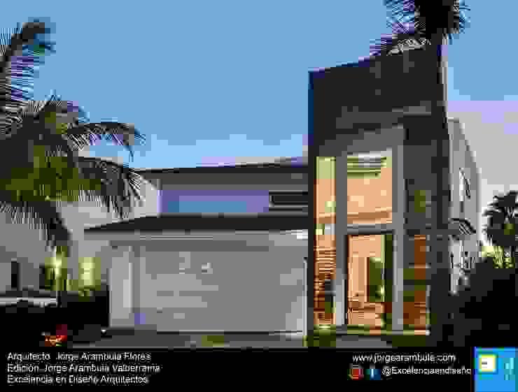Excelencia en Diseño Maisons modernes Blanc