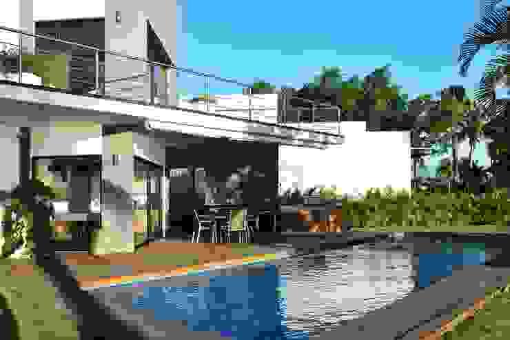 Casa Vista Lagos Albercas modernas de Excelencia en Diseño Moderno
