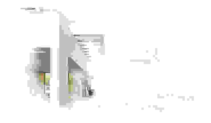Casas unifamiliares de estilo  por Otto Medem Arquitecto vanguardista en Madrid, Moderno